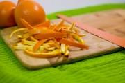 خلال پوست پرتقال خوراکی است؟